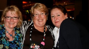 Me, Robin Kaye, and Deborah Villegas