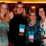 Shana Galen, Sarah MacLean, me, and Sophie Jordan