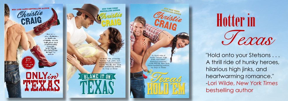 christie craig's hotter in texas series