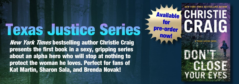 christie craig's texas justice series